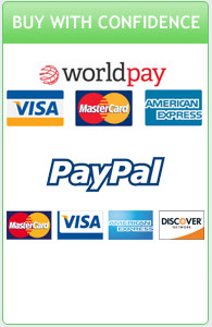 Payments securely handled by RBS Worldpay or Paypal